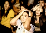 Argentina fan sees a penalty saved in the last World Cup