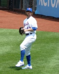RA Dickey, knuckleball pitcher for the New York Mets