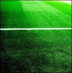 football pitch, grass and markings