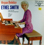 Elthel Smith at the organ, record sleeve