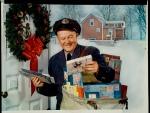 Postman at Christmas