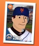 Steve's Mets trading card
