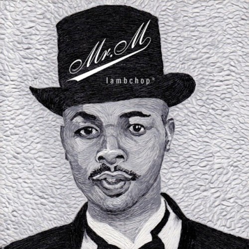 Cover of new Lambchop album, Mr. M. It is a drawing of a guy in a top hat.