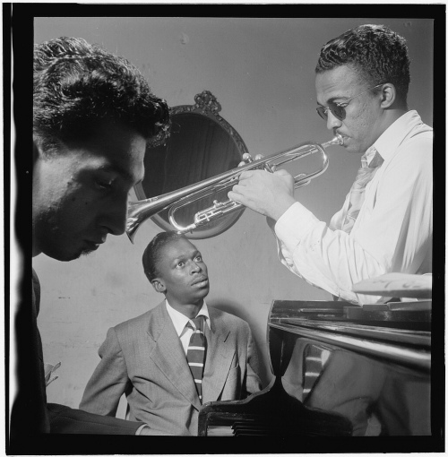Portrait of Howard McGhee and Miles Davis