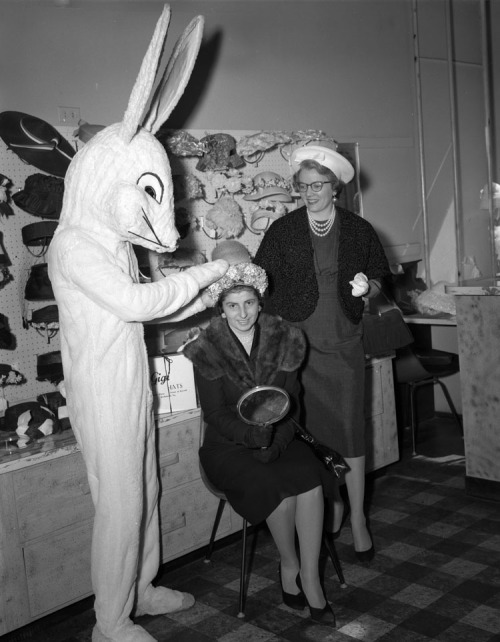 Rather scary Easter bunny