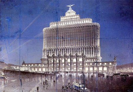 Aeroflot building