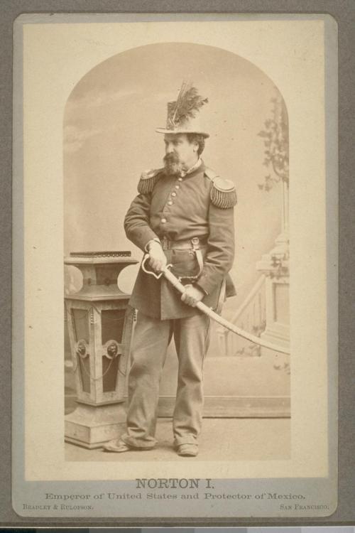 Photograph of Norton I, Emperor of California