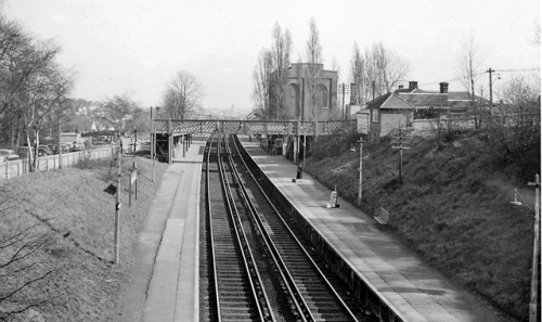 Barnehurst Station 1961