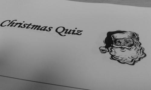Christmas quiz form