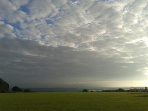 Park and a big sky
