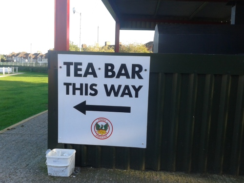Tea Bar sign