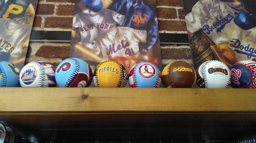 Vintage style baseballs