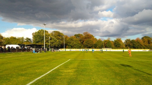 Sunny day for Phoenix Sports versus Bury Town