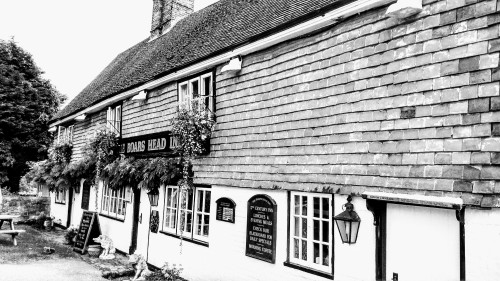 Exterior of The Boar's Head Inn, Crowborough